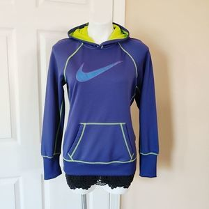 Nike Therma-Fit embroidered logo hoodie sz M
